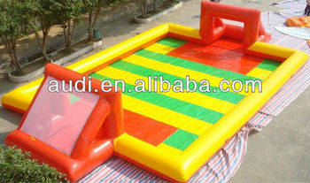 Giant Inflatable Water Football Pitch or water football field
