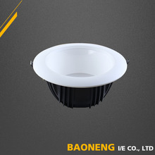 Dimmable High Lumen 90Lm / W Ra80 Recessed LED Downlight 15W With 120mm Cutout