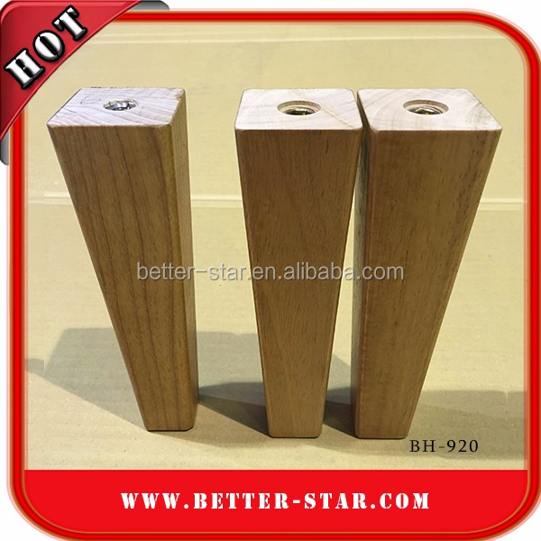 Many Size Square wood furniture leg cabinet chair sofa hardware legs