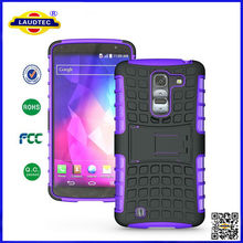 Heavy Duty Tough Shockproof Stand Hard Phone Case Back Cover for LG G2