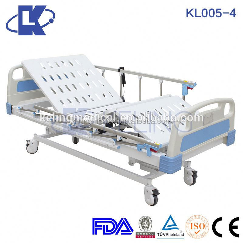 5-function used patient bed electric hospital bed with low price patient hospital bed spare parts