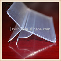 Jiaxing manufacture supermarket shelf clips for 5~8mm thick glass shelves GLS33