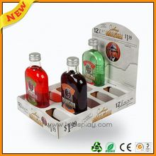 5 gallon water bottle stand ,4-side pallet beer display ,4-layer display for 48pcs drinks