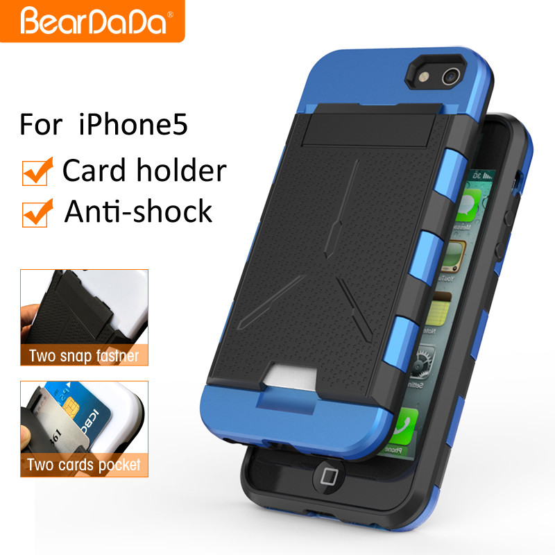 Best Quality Card Holder case for iphone 5