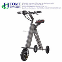 2016 Hot Sales 8 Inch K shape Mini Folding Electric Bike 250W 36V, Lightning Folding E-Bike In China