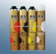 Aerosol Canned Construction expanding foam sealant