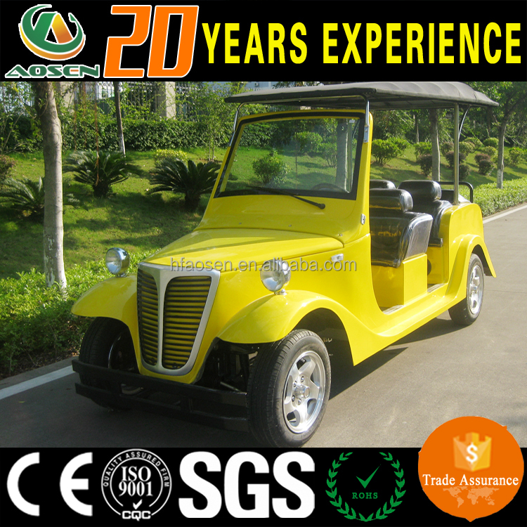 6 seater royal china used golf course resort electric classic car