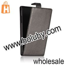 Commercial Style Holster Mangnetic Flip Leather Case Cover for Sony Xperia T2 Ultra