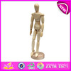 2016 fashion rotatable human wooden drawing manikin W06D041-A
