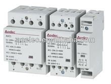 AUC1 with semko certificate Electrical Modular Contactor 2NO