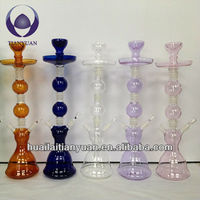 colored portable hand made glass unite hookah shisha