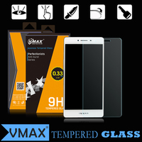 Brand Vmax anti-scratch anti-fingerprint 0.33mm Thickness 9H tempered glass screen protector for OPPO R7S