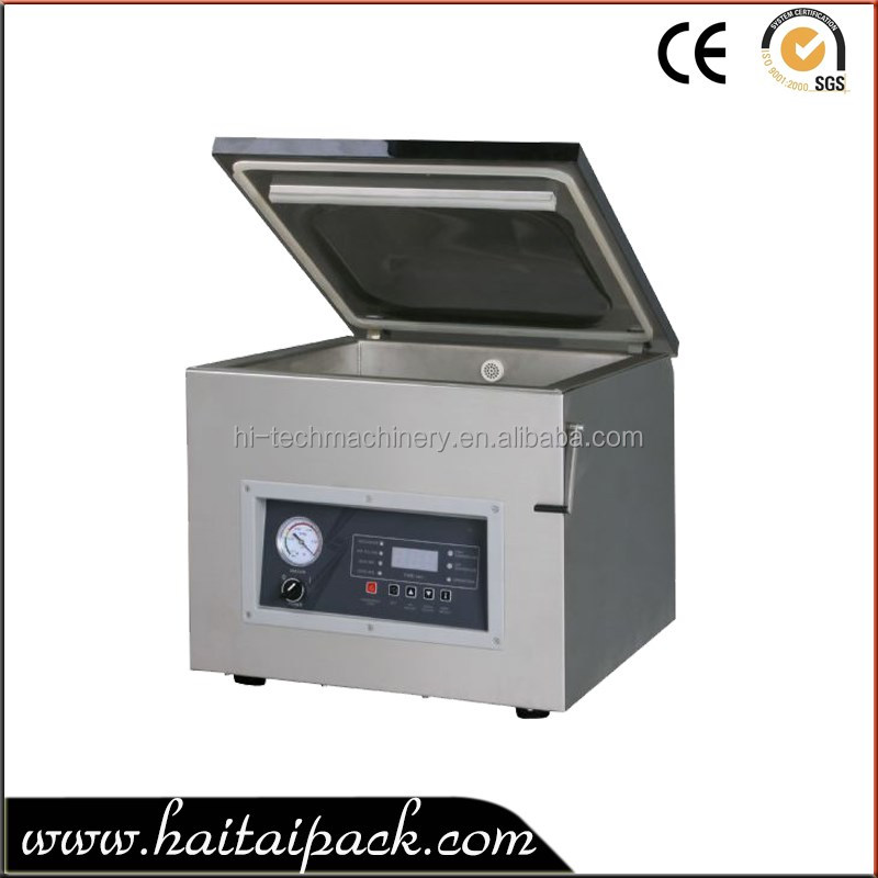 HT-Z400 For bag 1kg Semi-Automatic Small Food Vacuum Sealer Packing Machine