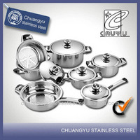 stainless steel china cookware set kitchenware