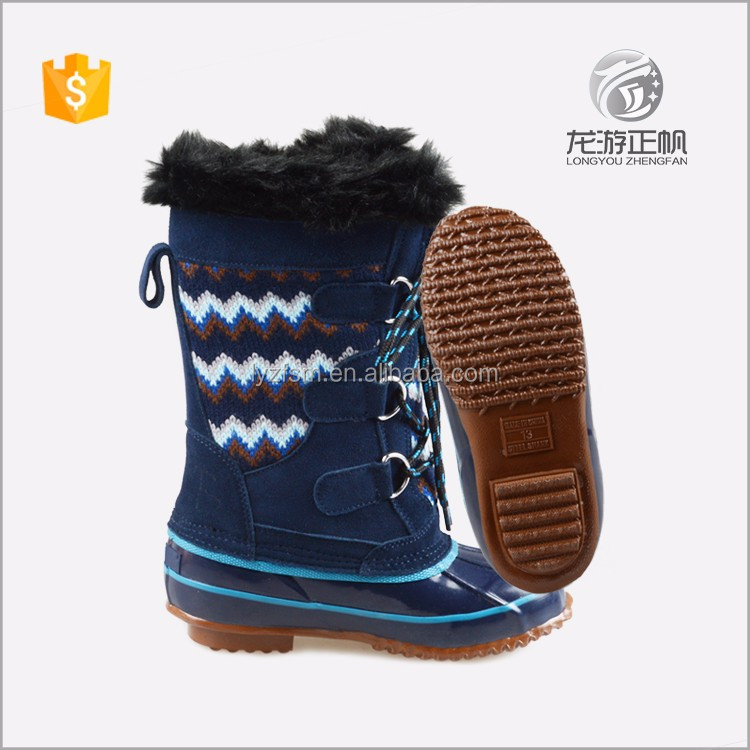 latest fashion European style winter hiking boots