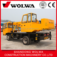 12 ton right hand drive truck crane with 5 section 5 meter