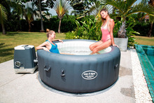 Bestway Lay-Z-Spa Palm Springs Hydrojet Inflatable Hot Tubs Spa for sale