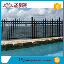 Chin product low price Aluminum fence designs,20.Factory supply high quality Aluminium Fence for garden/High quality OEM horizon