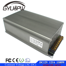Single output Power supply dc 12v 125A 1500w ac-dc converter driver 220V 110V AC DC12V SMPS For strip display cctv 3d printer