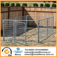 Highest quality lucky dog sliver modular welded wire kennel
