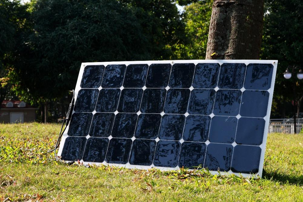 For you sake 100w semi flexible solar panel cheap price and good quality