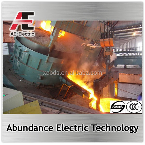 AC Electric Arc melting Furnace used to produce carbon steel furnace