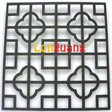 Jiangyin high quality reynobond panneaux bois/Decorative aluminum carved hollow panels