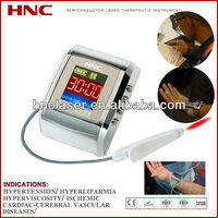 healthcare auto low level laser therapy equipment wearing on wrist