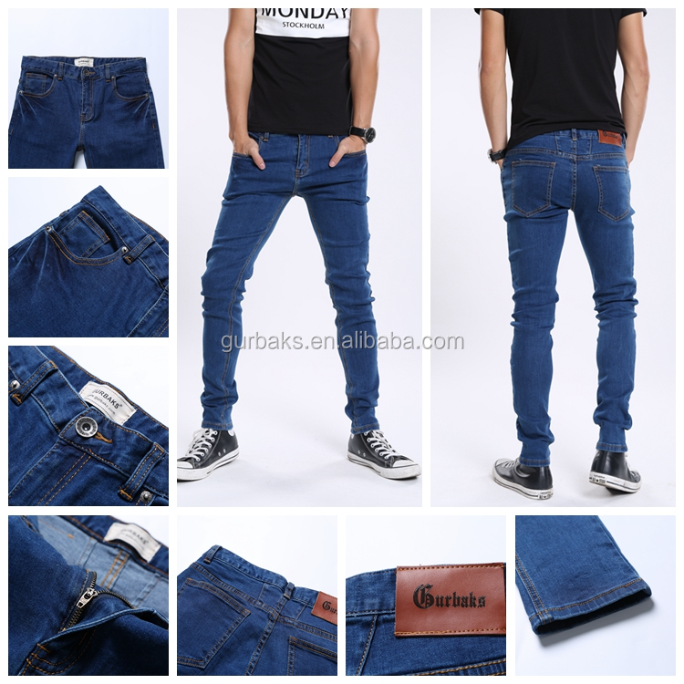 2017 Fashion Man Latest Modern Jeans Pants In Bangalore