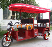 Auto Rickshaw Tricycle with plastic roof