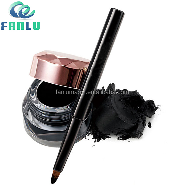 High Quality UV Gold Cap Waterproof Private Label Eyebrow/ Eyeliner Gel