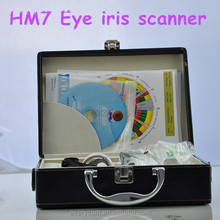 Portable Eye Iris Scanner Analyzer for home body test 2015 new arrival