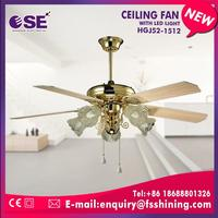 new fashion contemporary decorative ceiling fan with E27*5 light