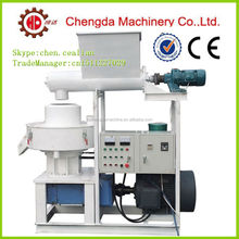 Chengda 90kw 1.5T/H vertical ring die coconut shell pellet making machinery