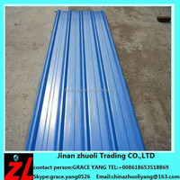 lowest metal roofing sheet price !! PPGI / GI Corrugated Steel Sheet / Metal Roofing