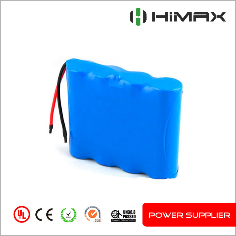 Rechargeable lithium Li-ion 18650 14.8V 2200mah battery heated blankets