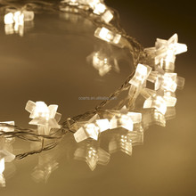Christmas falling Star string battery power LED Fairy christmas light