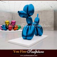 Jeff Koons Life Size Balloon Dog Stainless Steel Sculpture