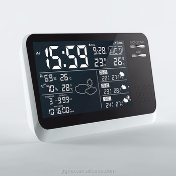 automatic zigbee travel weather station forecaster