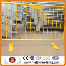 Steel Galvanized Crowd Control Barrier/Road Safety Barrier/center crowd control barrier