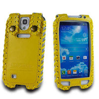 2014 new case for samsung galaxy S4 i9500 genuine leather mobile phone case