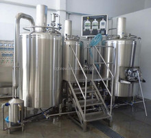 lager/ale/IPA micro beer brewery plant equipment 500L for hotel/pub
