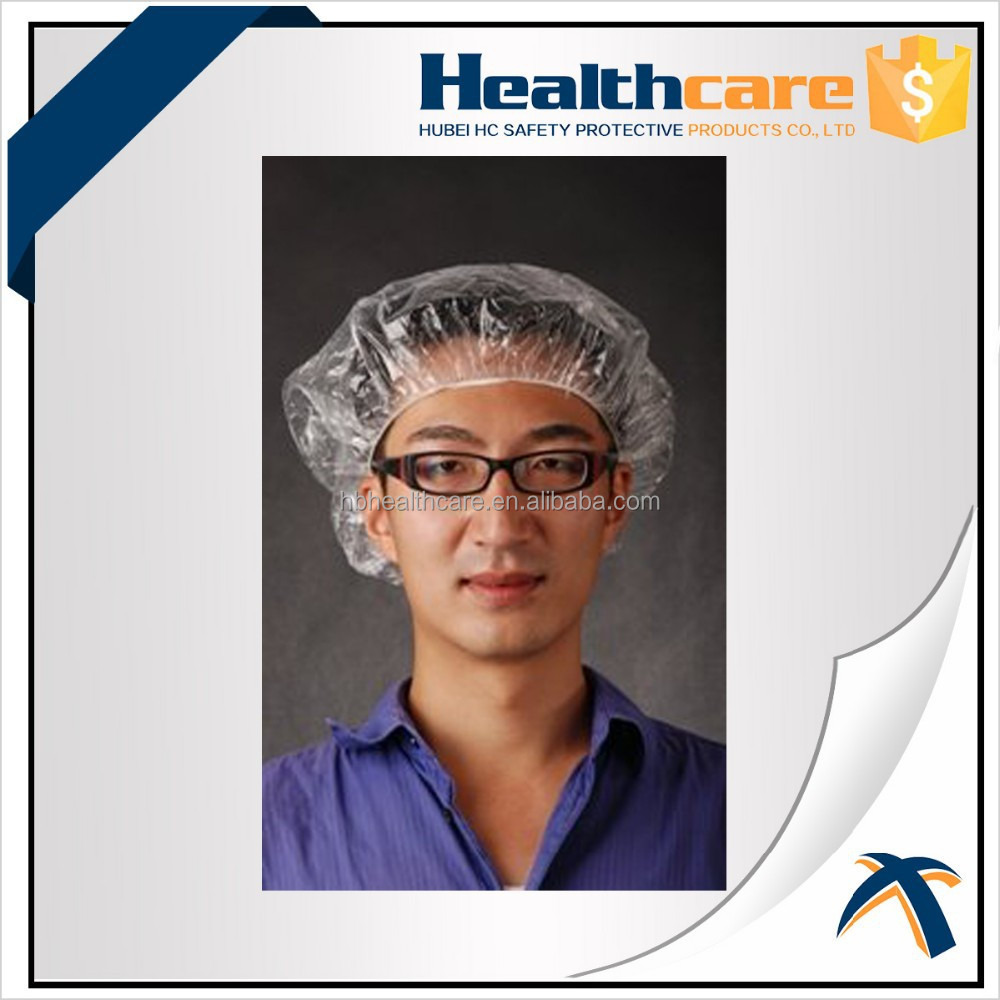 Disposable Plastic Shower Cap