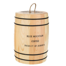 wooden coffee bean packing boxes