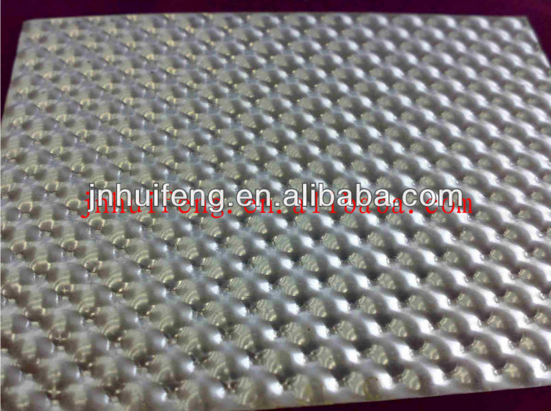 bubble type aluminium patterned sheet