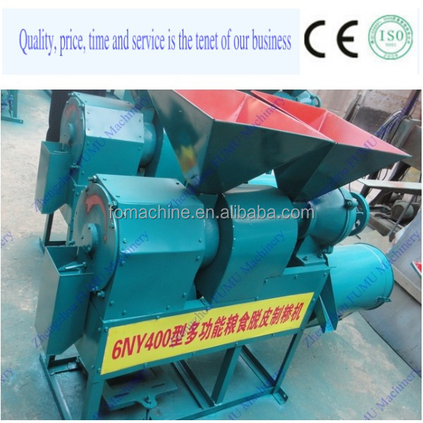 CE approved stainless steel corn milling equipment