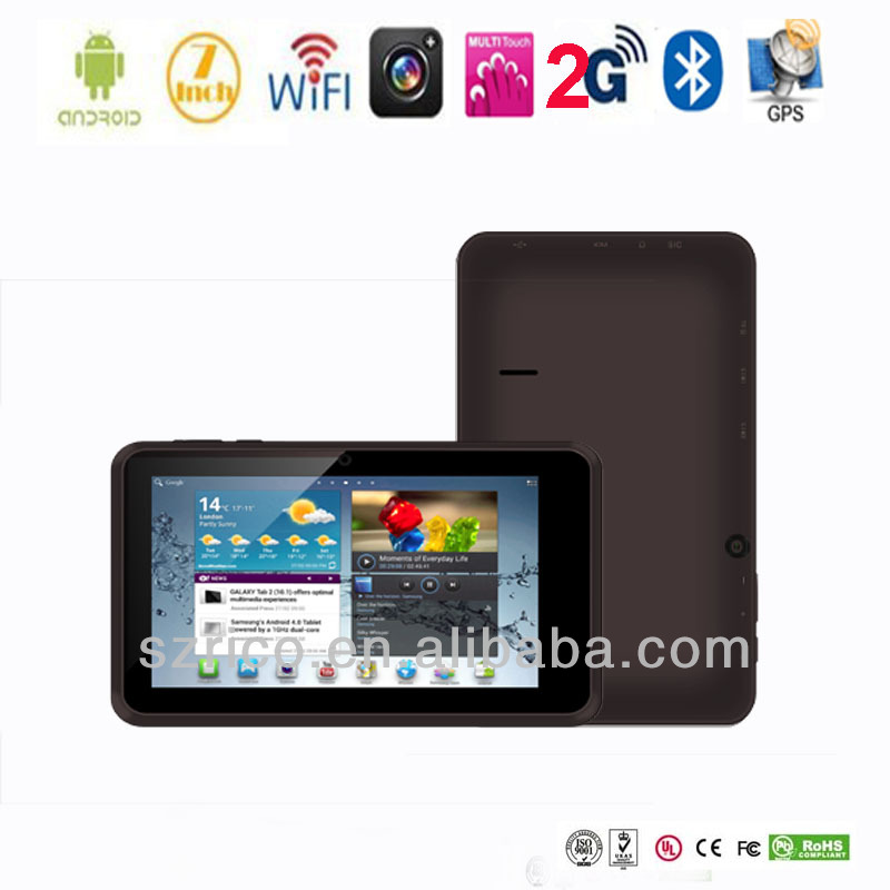 Cheap video call tablet pc with gps 3g dongle 7 inch dual core