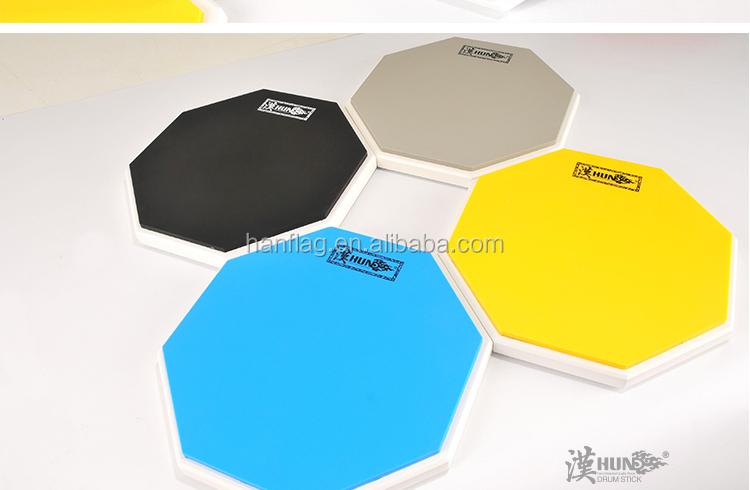 for drum beginner 12 inch practice pad silicone musical instruments