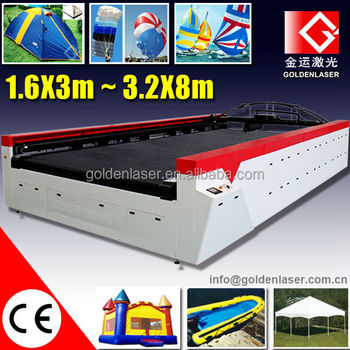 Laser Plotter Textile Paraglider Cutting Equipment