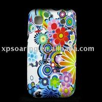 TPU rubber case back cover for Samsung Galaxy i9000